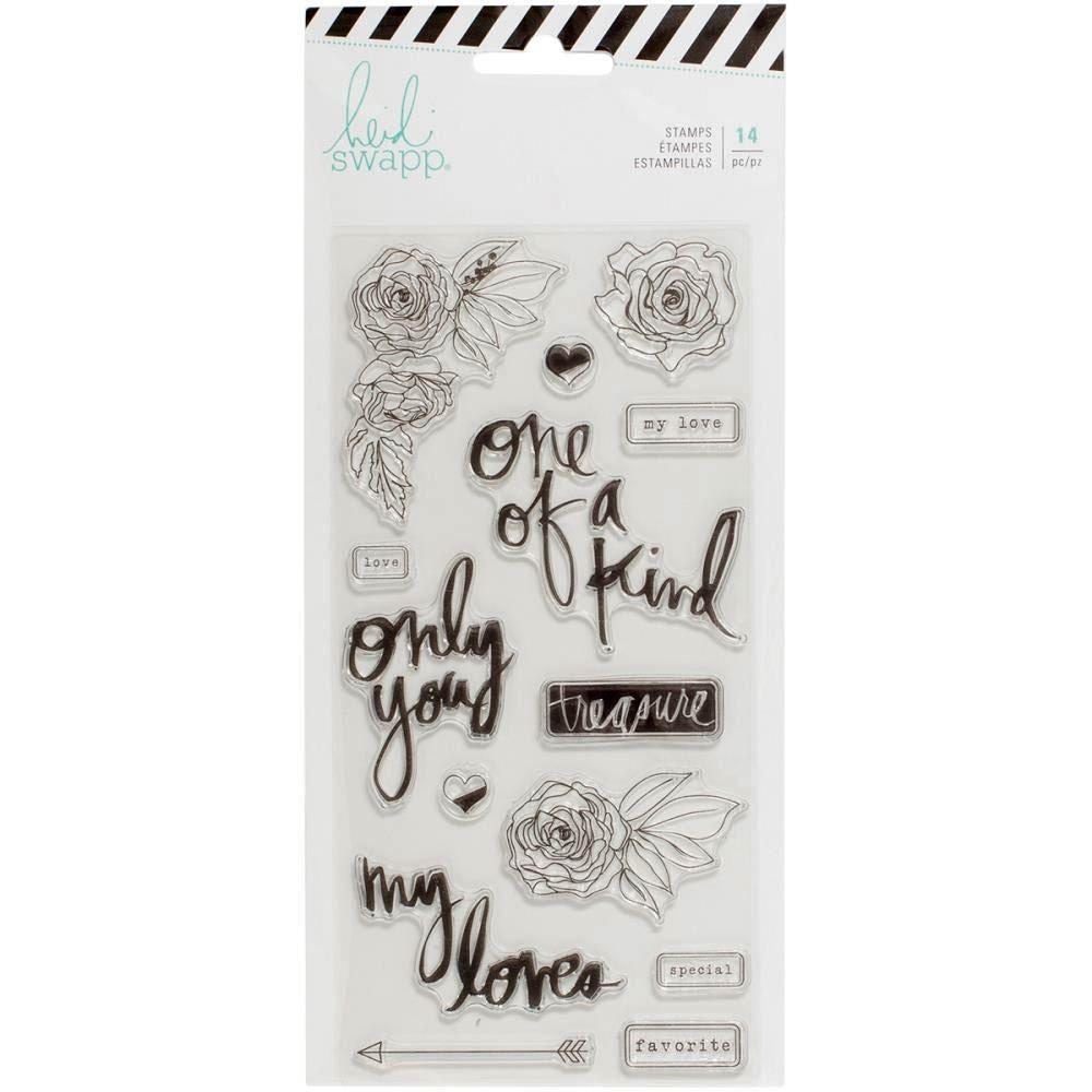 Heidi Swapp Magnolia Jane Clear Stamps