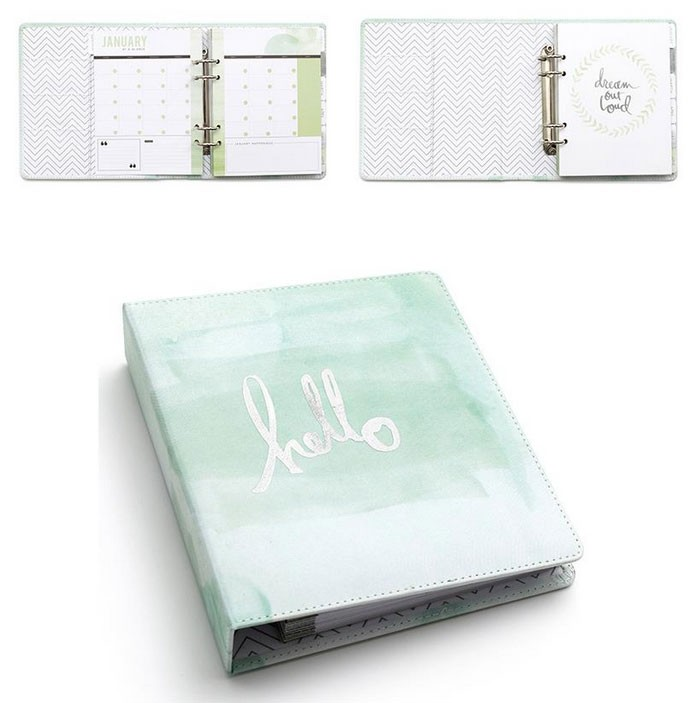 SALE - Hello Beautiful Memory Planner Hello Watercolor Binder