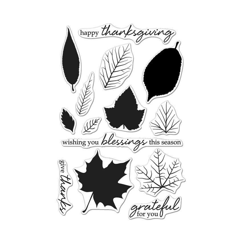 Hero Arts Color Layering Grateful Leaves
