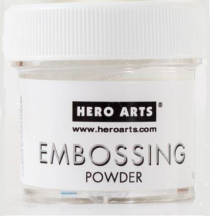 Hero White Embossing Powder