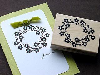 Daisy Wreath Card