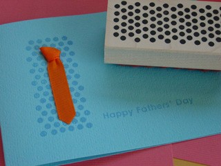 Tie Card for Dad