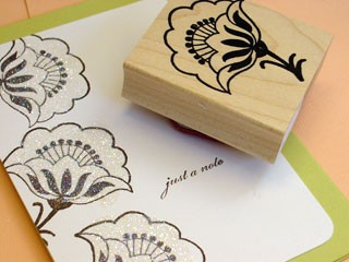 Outline Flower Card