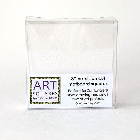 Art Squares - white 3 inch
