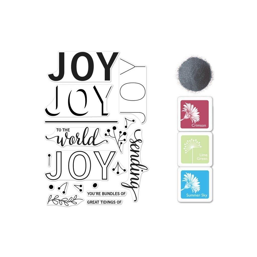 Hero Arts Color Layering Joy Message Bundle