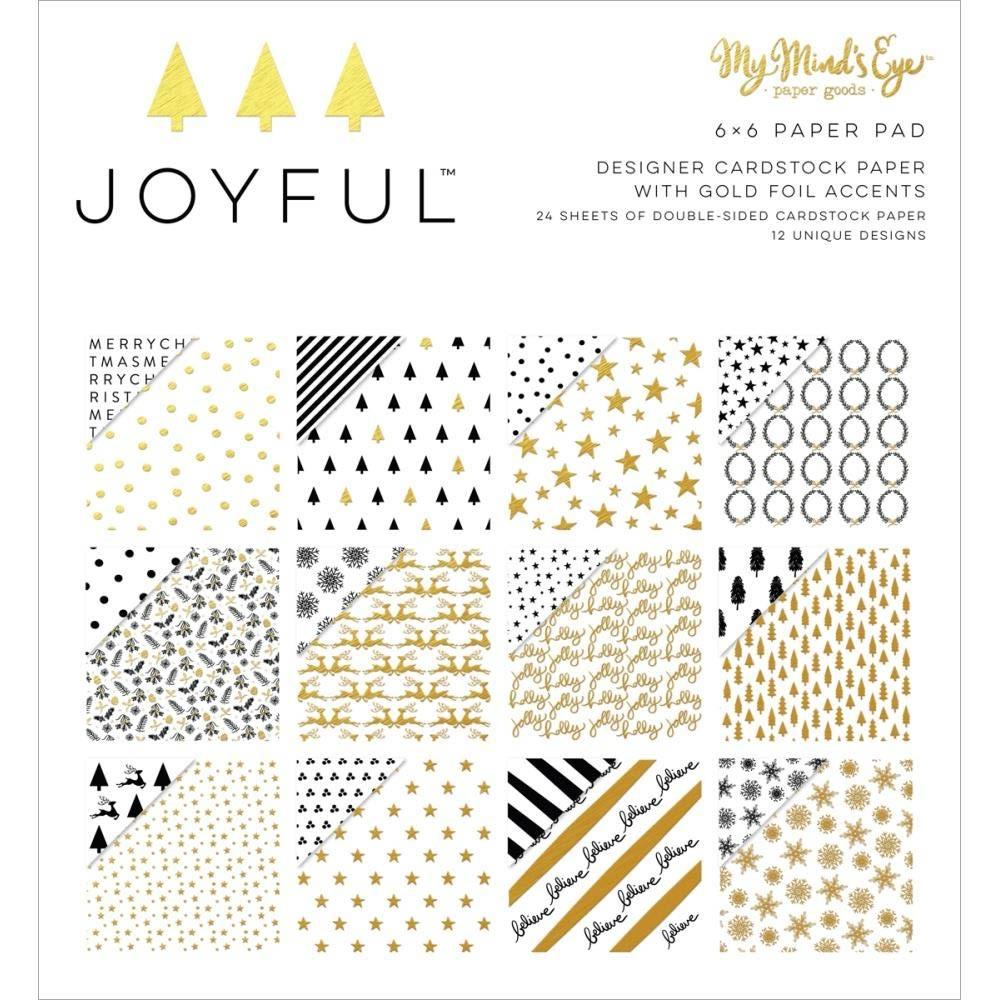 My Mind's Eye Joyful Paper Pack