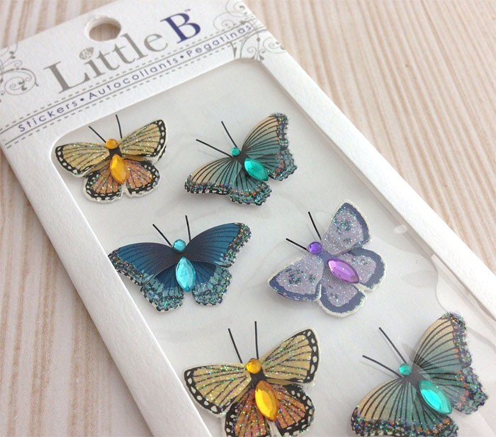 Little B Butterfly Stickers