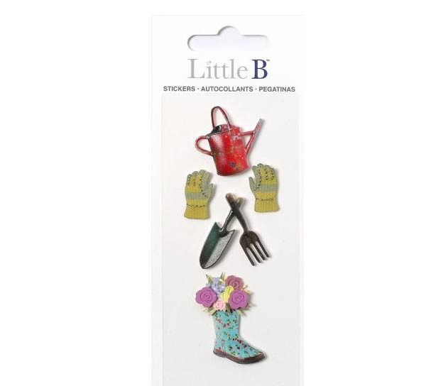 Little B Garden Stickers