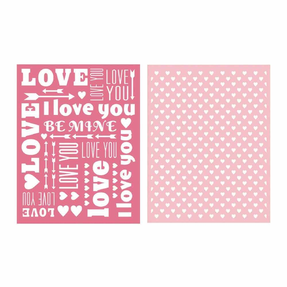 Sweetheart Embossing Folder