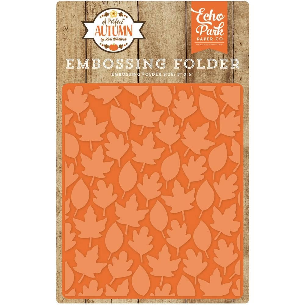 Echo Park Autumn Leaves Embossing Folder