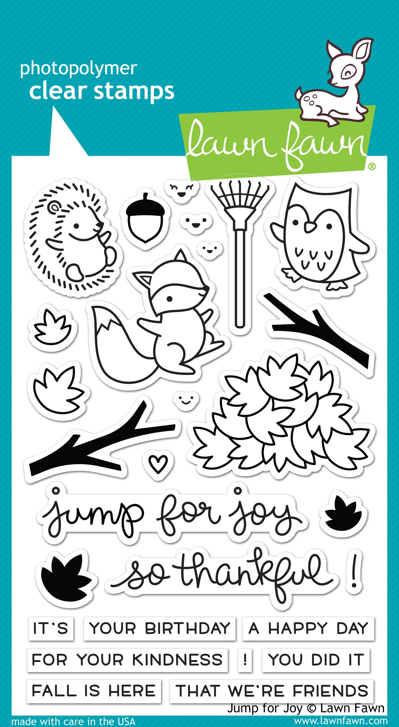 Lawn Fawn Jump for Joy Stamps