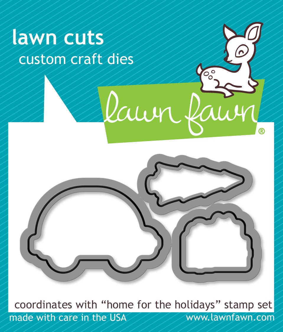 Lawn Fawn Home for the Holidays Die Set