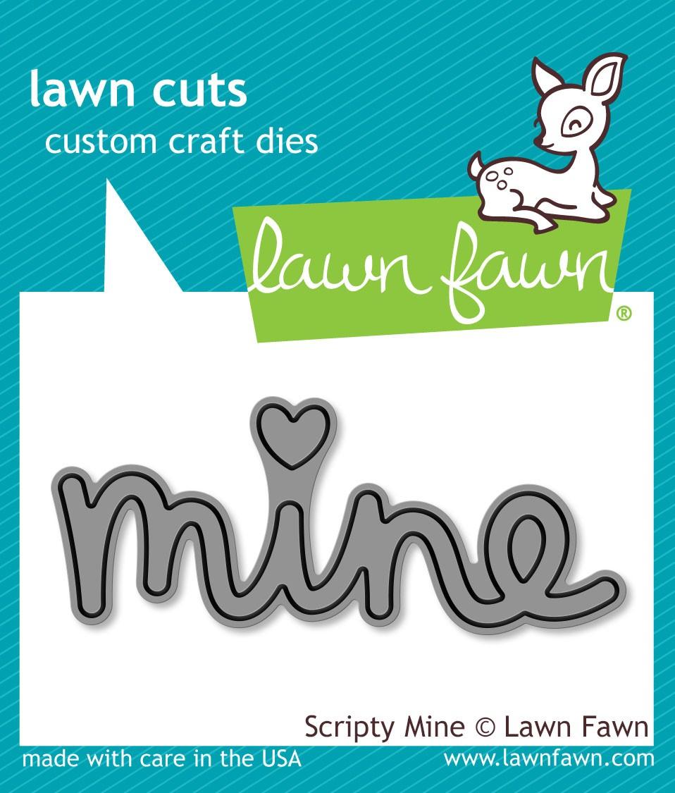Lawn Fawn Scripty Mine Die