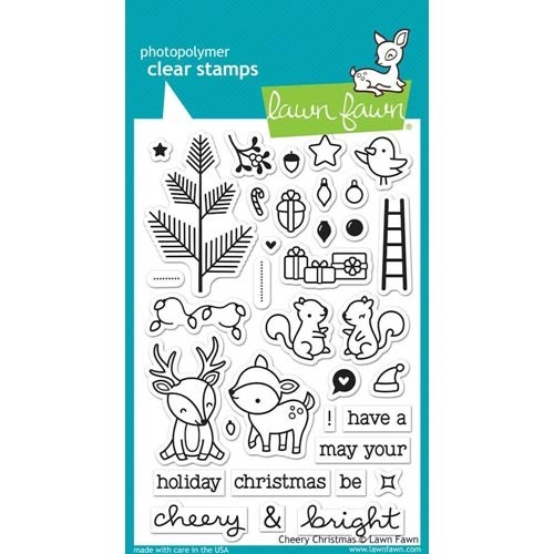 Lawn Fawn Cheery Christmas Stamps