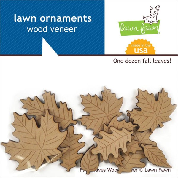 Sweater Weather Wood Veneer Leaves