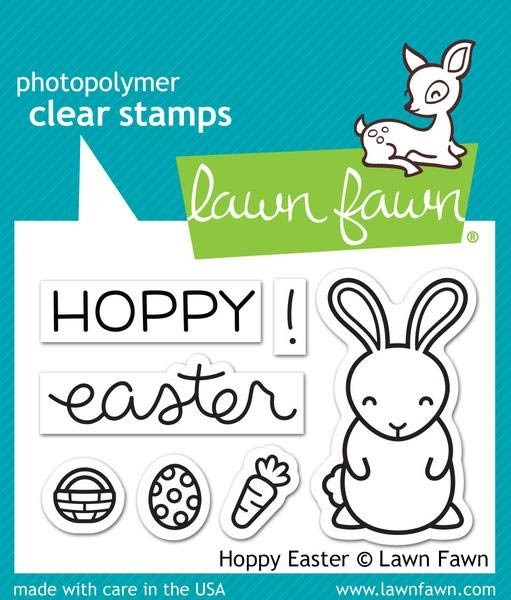 Lawn Fawn Happy Easter Clear Stamp Set