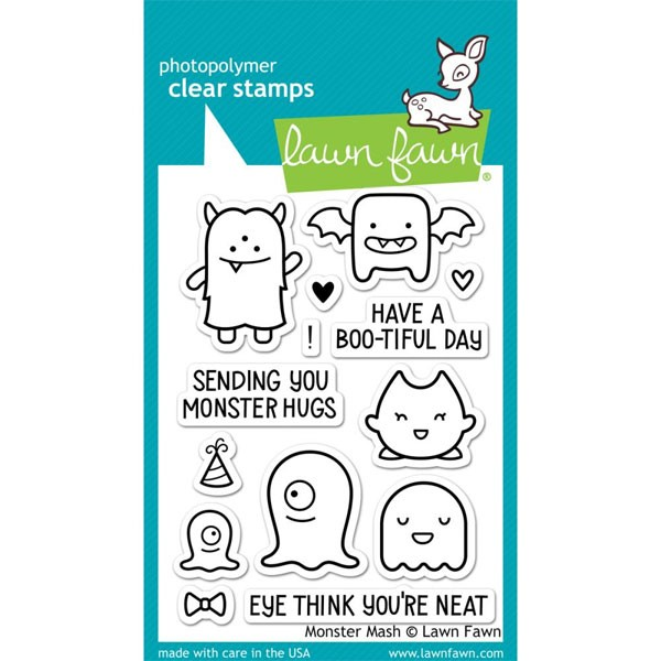 Lawn Fawn Monster Mash Stamps