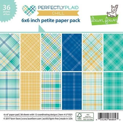 Lawn Fawn Perfectly Plaid Chill Pad