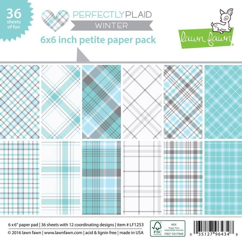 Lawn Fawn Perfectly Plaid Winter