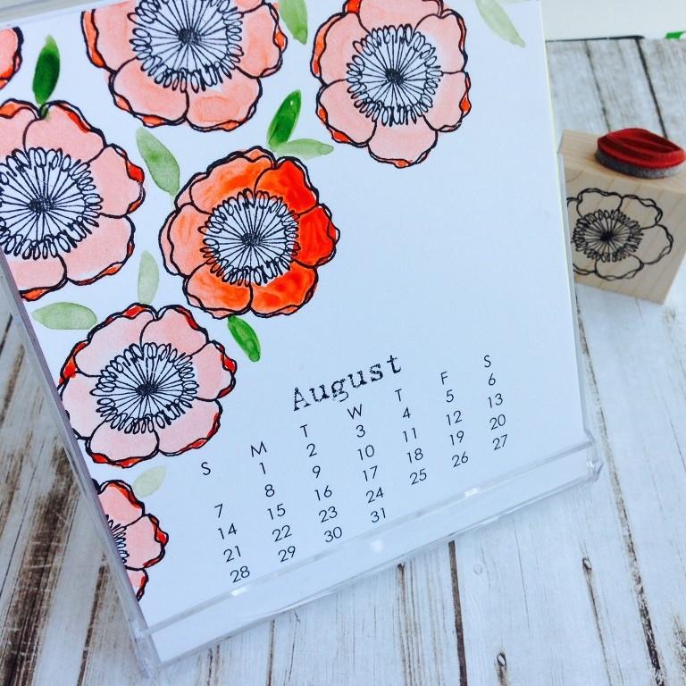 2016 Large Calendar Refill