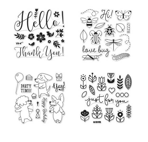 Lia Griffith Stamp Sets