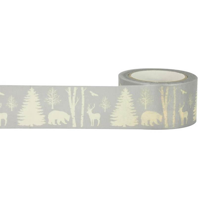 Silver Scene Washi Tape