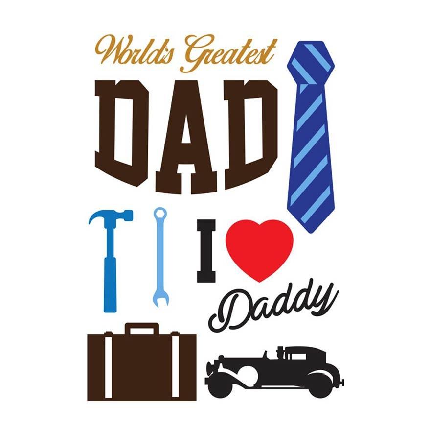Little B Dad's Die Set