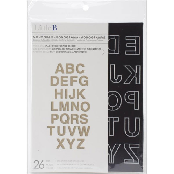 Little B Monogram Dies