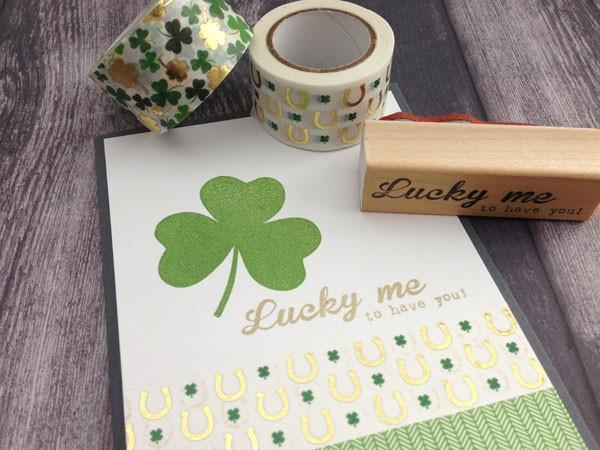 St Patrick's Day Washi Tape