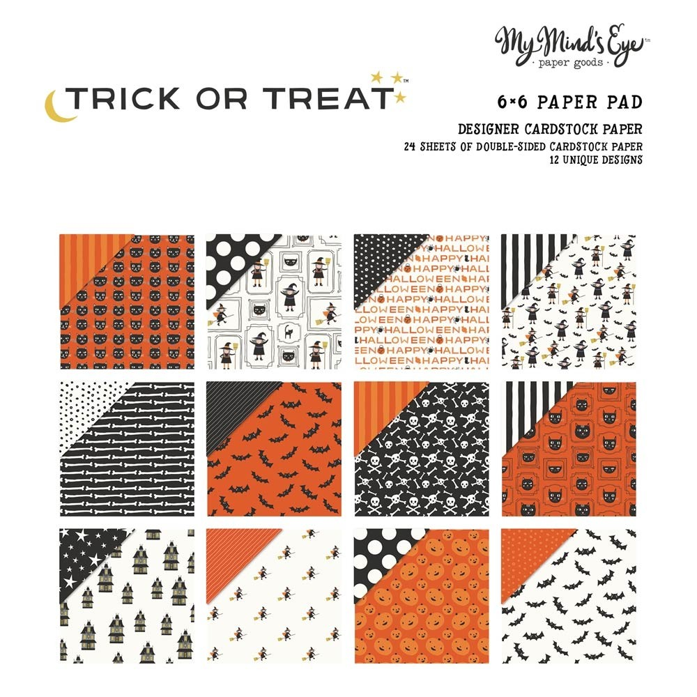 My Mind's Eye Trick or Treat 6x6 Paper Pack