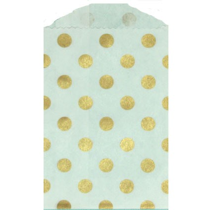 Mini Dot Bag - gold