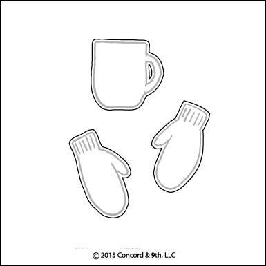 Mittens and Mugs Die Set