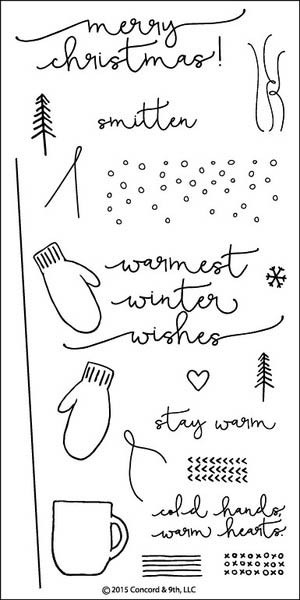 Concord and 9th Mittens and Mugs Stamp Set