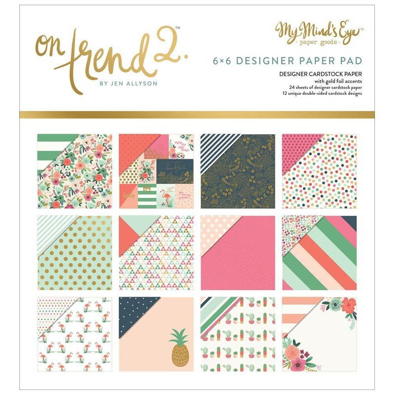On Trend 2 6x6 Paper Pack