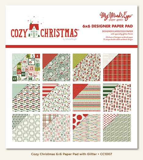 My Minds Eye Cozy Christmas 6x6 Paper Pack