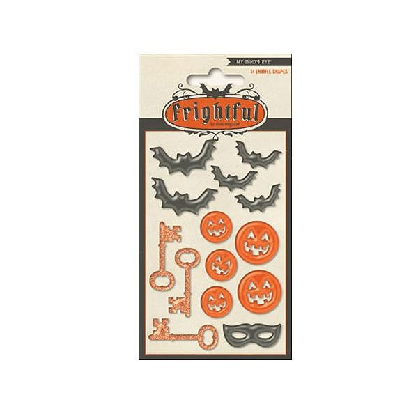 Frightful Enamel Shapes