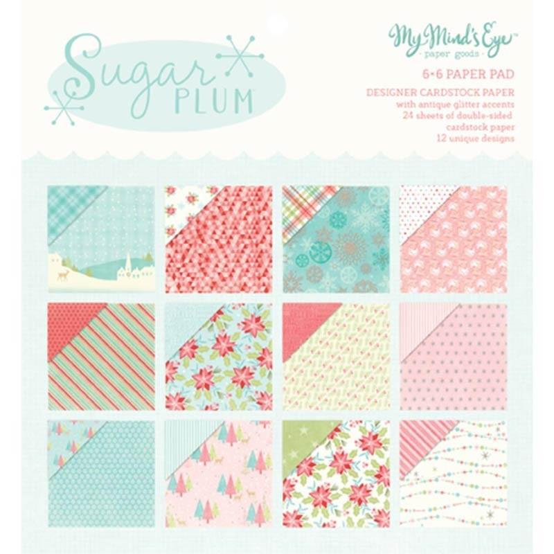 My Minds Eye Sugar Plum 6x6 Paper Pad