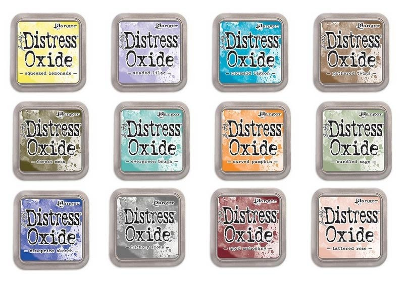 NEW Distress Oxide release