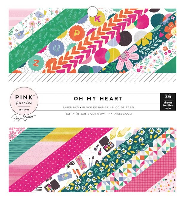 Oh My Heart 6x6 Paper Pack