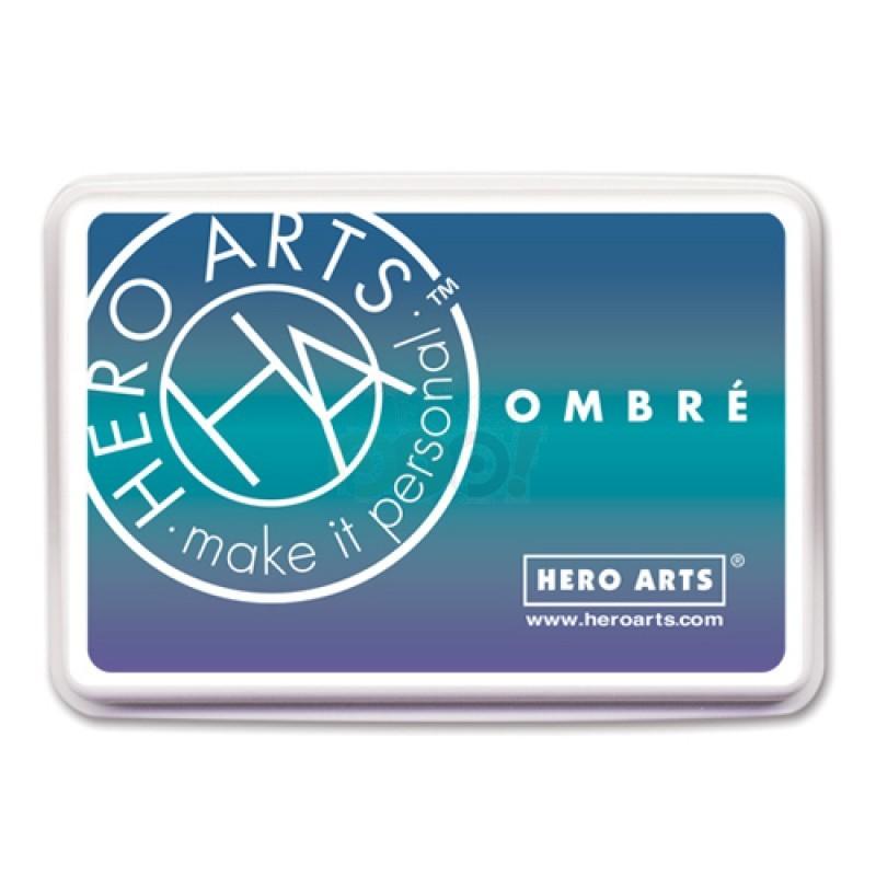 Hero Arts Ombre Ink Pad, Mermaid