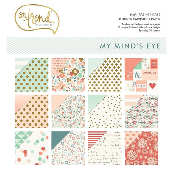 On Trend 6x6 Paper Pack