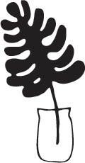 Palm in Vase Die (10231)