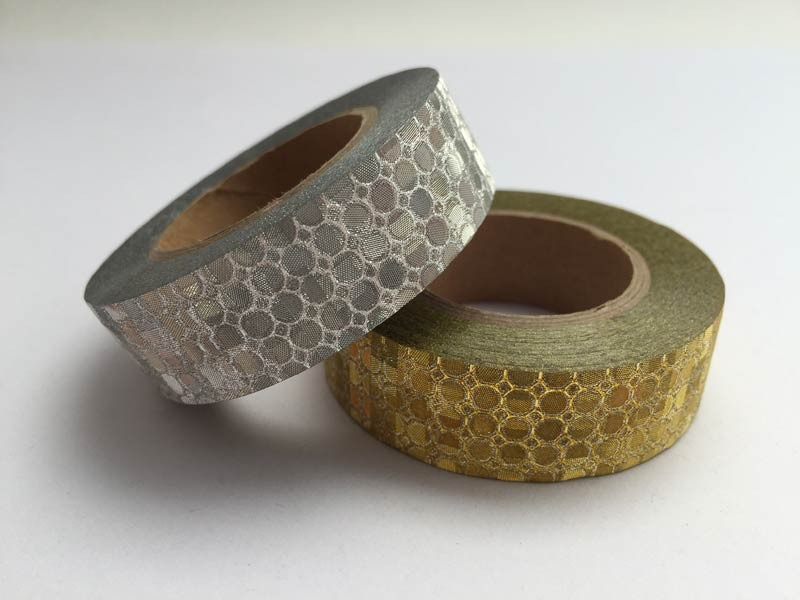 Patterned Metallic Washi Tape