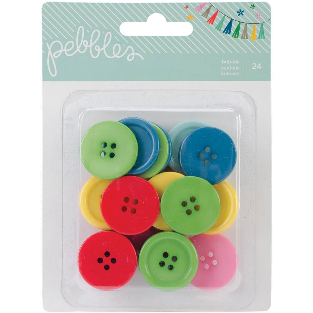 Pebbles Buttons