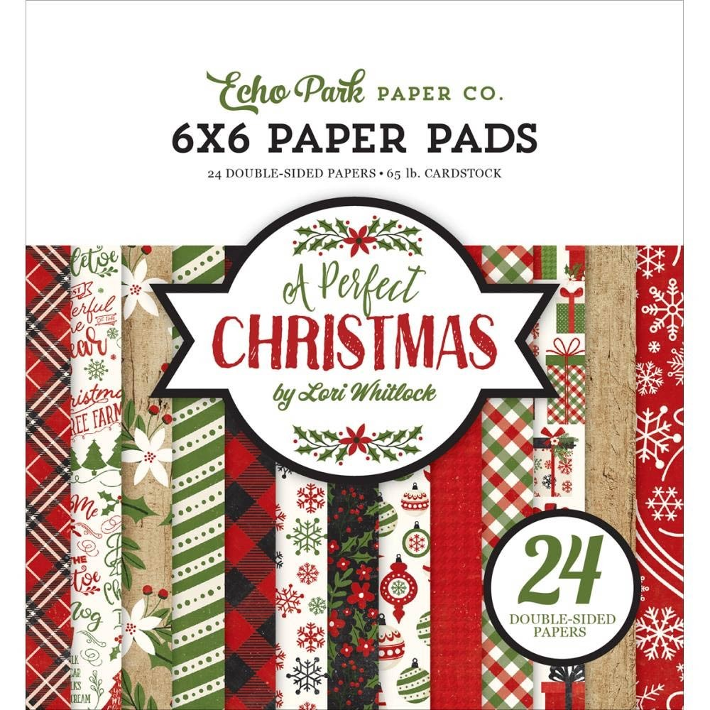 Echo Park A Perfect Christmas 6x6 Paper Pad