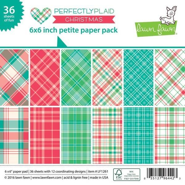 Lawn Fawn Perfectly Plaid Christmas