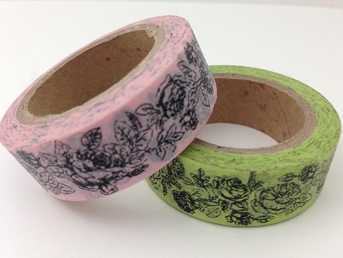 Rose Washi Tape