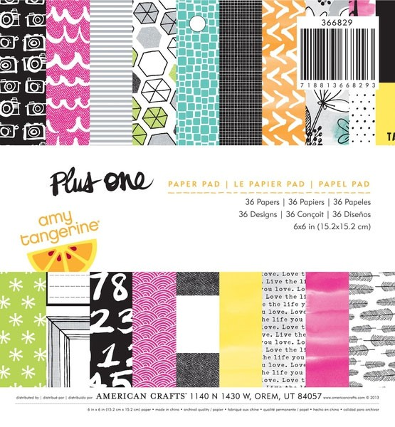 Plus One 6x6 Paper Pack