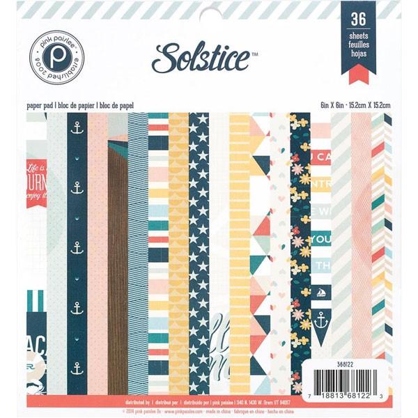 Solstice 6x6 Paper Pack