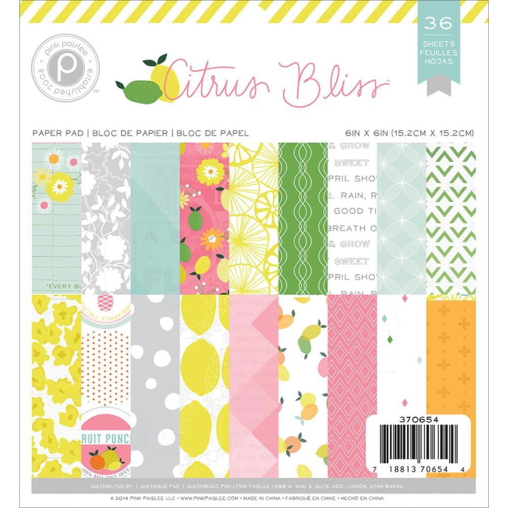 Citrus Bliss 6x6 Paper Pack